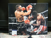 Mike Tyson Signed Photo 16 X 20 Inscribed I'm Gonna Knock You Out Psa/dna Nice