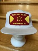 Vintage Perry Eng. Co., Winchester, Va Patch Trucker Cap Hat K-products