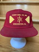 Vintage Perry Eng. Co., Inc Winchester, Va Patch Snapback Hat Cap Made Kproducts