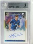 2019-20 Impeccable Soccer Masterstrokes Christian Pulisic Auto /19 Bgs 9 81061