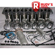 Dt466 1978-1993 In-frame Engine Kit With Valves And Valve Guides