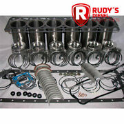 Internatiional/navistar Dt360 In-frame Engine Kit With Valves And Guides