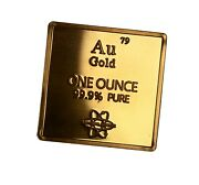 Gold .999 1 Oz Troy Ounce Bar For Bullion Or Element Collection Usa Ship