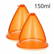 Big Size150ml Breast Enhance Butt Lifting Cups For Vacuum Therapy Shape Machine
