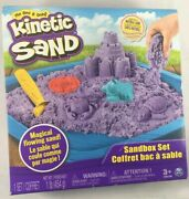 Spin Master Kinetic Sand Box Set - Purple Shipps Priority Mail Free
