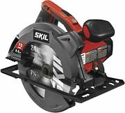 7 1/4 Inch Circular Saw Electric Corded Tool 15 Amp W/ Laser Blade Guide Blades