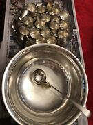 Vintage Wallace Silver Plate Harvest Punch Cups Set Of 24
