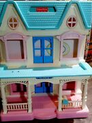 Lot Vintage Fisher Price Loving Family Dream Dollhouse Accessories Local Pick Up