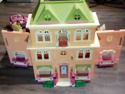 Large Lot Fisher Price Loving Family Grand Mansion Dollhouse Accessories