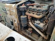 White Hercules D198er 4 Cylinder Diesel Engine With 1207 Hrs.