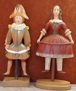 Wood Mannequin Figurines Girl And Boy
