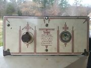 Auto Mancave Display Vintage General Electric Tungar Battery Charger Faceplate