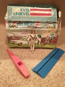 Evel Knievel Toy Figure Vintage Parts Lot 1970s Ideal Harley Davidson