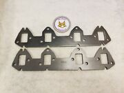 Gbe Ford Fe 360 390 428 Exhaust Header Flanges - Laser Cut