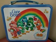 Rare 1983 Care Bears Metal Lunch Box And Thermos