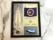 Nasa Space Shuttle Sts-26 Discovery Flown Flag W/certificate And Frame