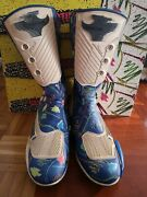 Stylmartin Boots Leather Retro Vintage New Old Stock Size 44