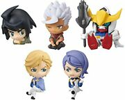Gashapon Mobile Suit Gundam Iron-blooded Orphans Desktop Figure Collection Set