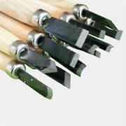 Beginners Wood Carving Tools Set For Tool Woodcut Clay Woodworking Hand 10pcs