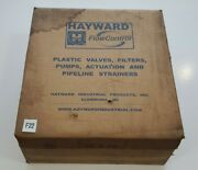 New In Sealed Box Hayward By110200ela Butterfly Valve 2 To 1-1/2 Pvc Bodyandd