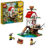 🔥new Lego Creator Treehouse Pirate Treasures 31078 3-in-1 Toy 260 Pieces 31078