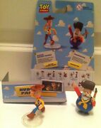New Disney Toy Story Buddy Pack Collectible Figures Action Woody And Prospector