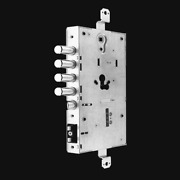 Lock Electrical Motorized Autoriarmante For Doors Armored Iseo X1r Smart