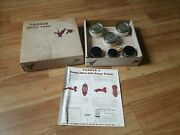 Nos Ira S Parker And Sons Mallard Duck Decoy Paint Set Complete - Display Only