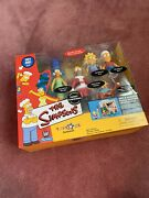 Simpsons Family Christmas Interactive 5 Figures Trs Exclusive Nrfp Nib 2001