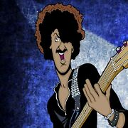 Phil Lynott By Anthony Parisi Limited Edition Print