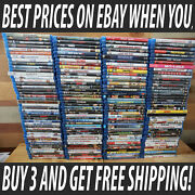 Blu-ray Popular Movies Lot 1-f Best Prices Ships Same Day Buy 3 Ships Free
