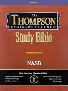 Thompson Chain Reference Bible Style 603 Index - Regular Size Nasb - Ha - Good
