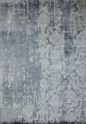 9and039x12and039 Rug | Hand Made Hand Knotted Silk Multi Area Rug