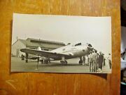 Lady Peace Early Airliner Airplane On Tarmac 1933 Antique Photo