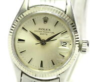 Rolex Oyster Perpetual Date 6517 Cal.1130 Automatic Ladies Watch_574675