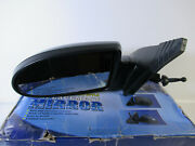 Manual Remote Mirror For 2006-2009 Hyundai Accent Driver Side Textured Black