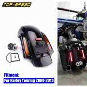 Motorcycle Led Abs Rear Fender System For Harley Touring Road King Electra Glide