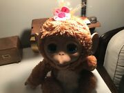 Furreal Friends ❤ Cuddles ❤ My Giggly Monkey Pet Animal Full Size