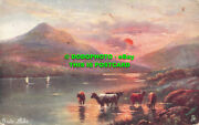 R492369 Bala Lake. Picturesque North Wales. Tuck. Oilette. Series Iv. Postcard 6