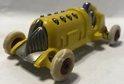 1920s Cast Iron Piston Racer / Race Car 6 Toy 2137 By Hubley