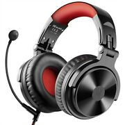Wireless Bluetooth Headphone With Boom Mic Stereo Gaming Headset For Phone Pc