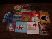 Lot 12 Allhb Nativity Christmas Holiday Picture Books Bear Mouse Polar