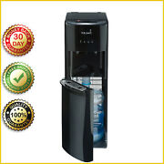 Hot Cold Water Dispenser Primo Bottom Loading Cooling Heating 5 Gallon Black New
