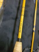 Beautiful 7and039 Two Piece Partridge Bamboo Fly Rod Ultra Light Action And Reel.