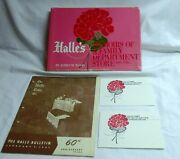 Halles Memoirs Of A Family Dept Store 1892-1982 J. Wood W/extras............zy