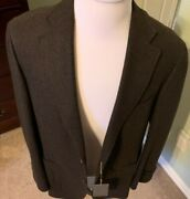2195 Canali  Cashmere  Sport Coat Hand Made In Italy Us 44r Eu 54