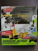 Air Hogs, Mission Alpha Ultimate Mission Rc Helicopter - Black/yellow