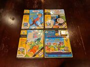 Leapfrog My First Leappad Educational Games Lot Thomas, Dr.suess, Pooh And Abcs