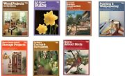7 Ortho Books, Home And Gardening Books 1976-83 See Subjects In Description Euc