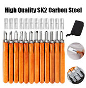 12 Wood Carving Tools Carbon Steel Stamp Carving Tool Professional And Beginner